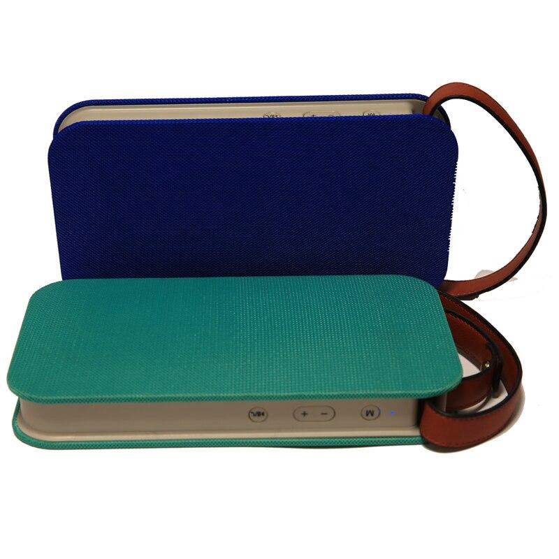 SAMTRONIC ML78 haut-parleur Bluetooth sans fil Portable Super basse extérieur avec poignée en PU facile à transporter Microphone mains libres appelant FM