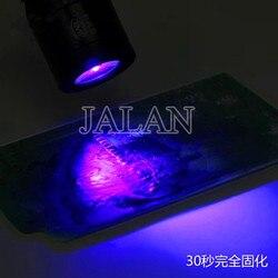 WNB LED lampa UV do kleju UV  oca optyczne klej szybko utwardzający się ze stopu aluminium ze stopu aluminium USB do ładowania Ultrabright lampa może być wygięte 360 stopni