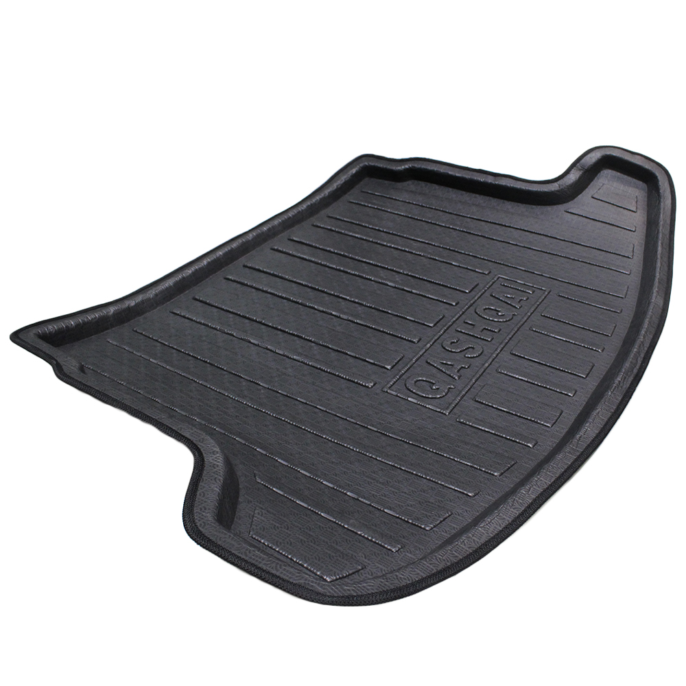 For Nissan Qashqai 2008 2009 2010 2011 2012 2013 2014 2015 Car Trunk Mat Tray Liner Cargo Mat Floor Protector 3Colors