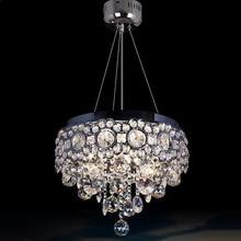 Современный LED Хрустальные люстры K9 кристалл кулон лампы dinging светильник блеск lumniare ресторан лампы