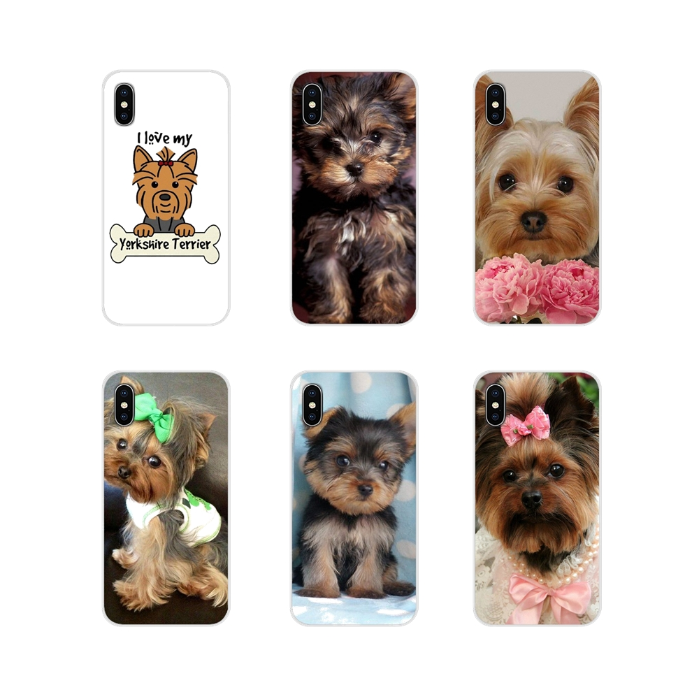 Accessories Phone <font><b>Cases</b></font> For Oneplus 3T 5T 6T <font><b>Nokia</b></font> 2 <font><b>3</b></font> 5 6 8 9 230 3310 2.1 <font><b>3</b></font>.1 5.1 7 Plus 2017 2018 Yorkshire Terrier Puppy <font><b>Dog</b></font> image
