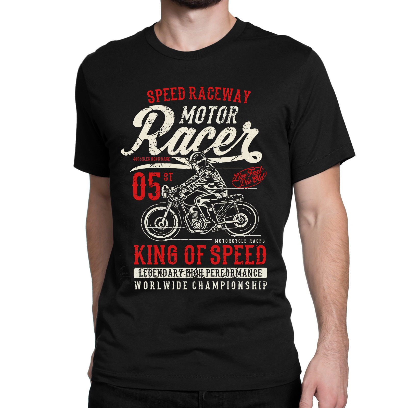 футболка Moto Biker Moto R Racer Racing Vintage Bsa Triumph
