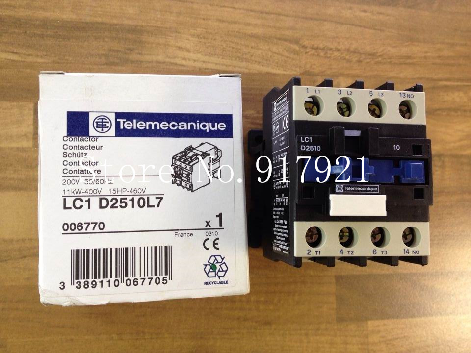 [ZOB] France original LC D2510L7 AC contactor 200V old standard original authentic --3pcs/lot 50pcs lot fr9220 200v 3 6a