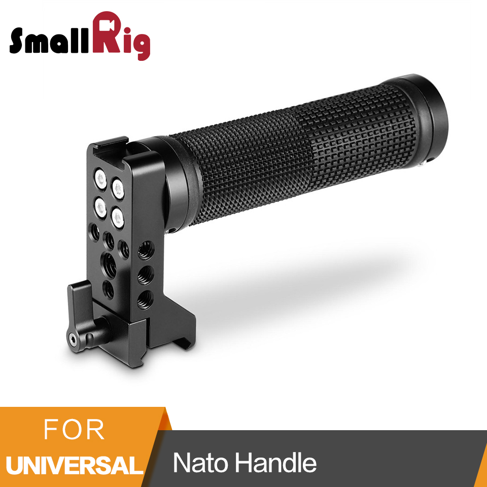 SmallRig Dslr Cage Handle Nato Handle Cheese Handle with Cold Shoe 1 4 and 3 8