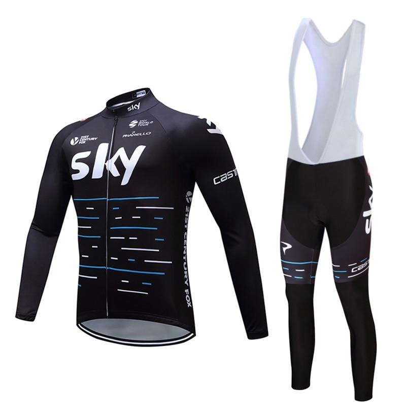 ФОТО 2017 spring sky pro cycling clothing of female male thin ropa ciclismo tropical America during the rainy season MTB bicycle shir