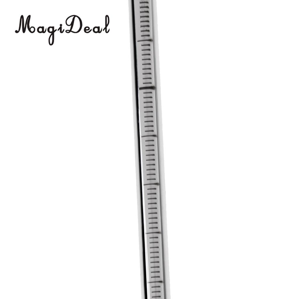 MagiDeal Strong Durable 31.5cm Ultra-light Stainless Steel Scuba Diving Stick Pointer Rod & Measuring / Underwater Tank Banger