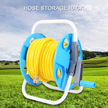 Portable Car Washing Water Pipe Storage Rack Garden Hose Reel Cart
