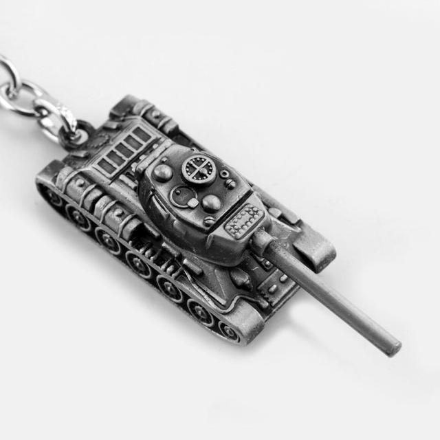 dongsheng World of Tanks WOT Hot Game 3Colors Metal Tank Key Ring Keychain Pendant Gift -50 3