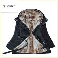 2017 Sell Like Hot Cakes Women Winter Coats And Jackets Faux Fur Woman Warm Parka Hood