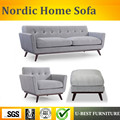U-BEST  Европейский современный диван  дизайн для гостиной  диван  1 + 3 местный с Османской  одноместный диван