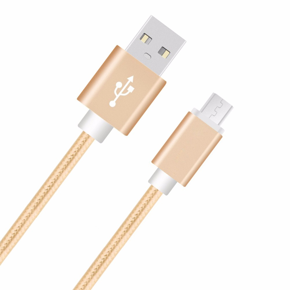 3FT Aluminum Nylon Micro USB Fast <font><b>Charger</b></font> Cable for <font><b>Samsung</b></font> <font><b>Galaxy</b></font> <font><b>A7</b></font> A5 A3 J7 J5 J1 2015/2016 E7 E5 Data Sync Charging Cable image