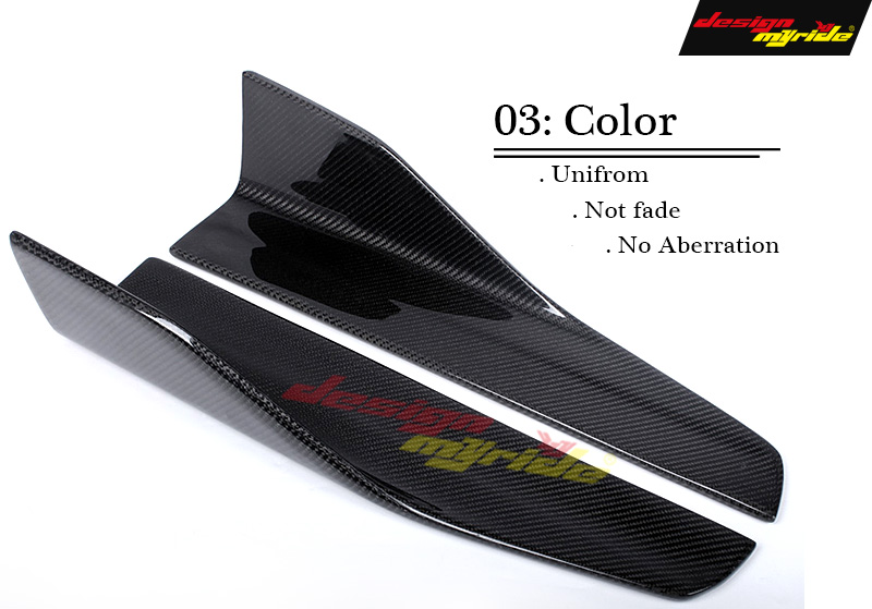 F06 F12 Side Skirts Splitters Flaps Winglets Carbon fiber for BMW F06 F12 640i 650i Car Styling Side Bumper Extension Skirt E St in Bumpers from Automobiles Motorcycles