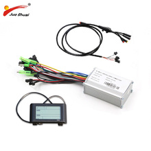 36V 48V 350W 500W Electric Bike Controller Set Sine Wave LED LCD Display Waterproof Cable for Electr