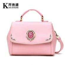 Роскошные элегантные мода женщины сумку. корейский полноценно алмаз женская сумка Небольшие сумки Дамы Посланник Сумки для партии