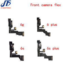 """10pcs/lot for iPhone 6 6G 6s plus 4.7"""" 5.5"""" Light Proximity Sensor Flex Cable with Front Facing Camera Microphone Assembly"""