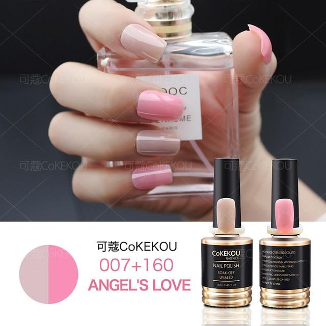 Tienda Online CoKEKOU genuino limitada de dos colores gel de uñas ...