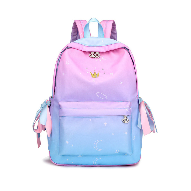 Starry Sky Backpacks For Girls School Children Schoolbags Primary School Book Bag School Bags Women Backpack Sac Ecolier Pink
