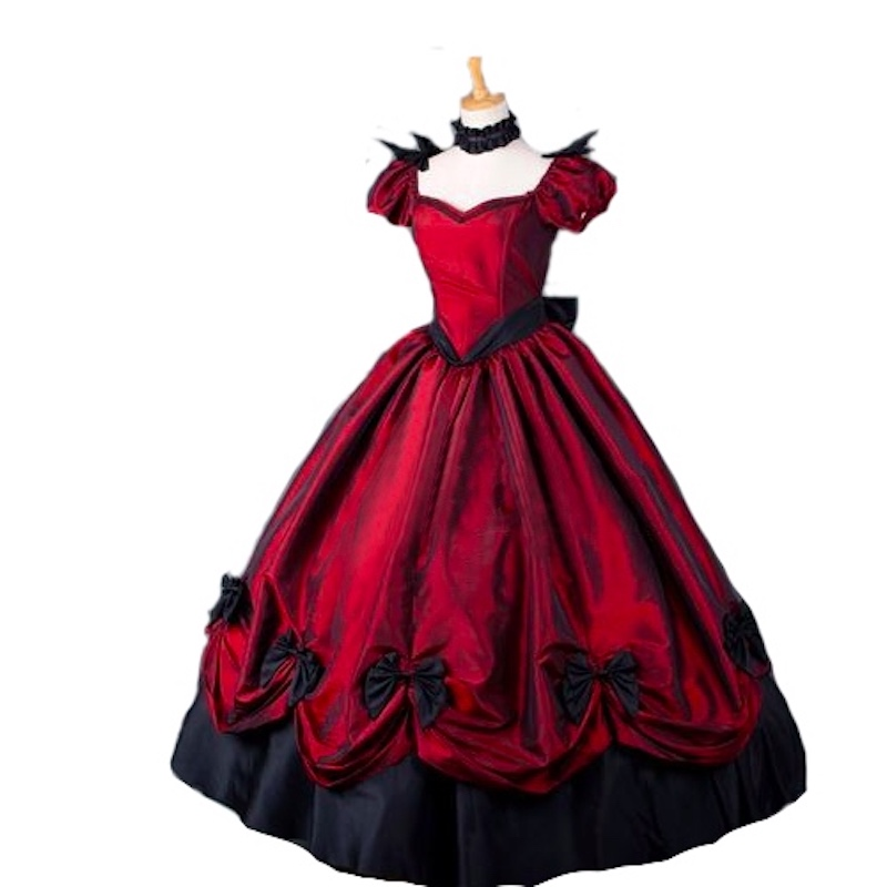 Marie Antoinette Colonial Masquerade Victorian Brocade Period Dress - Հատուկ առիթի զգեստներ - Լուսանկար 2