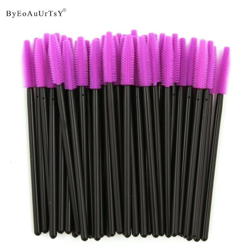Pack Of 1000 One-Off Disposable Silicone Eyelash Mascara Brushes Wands Applicator Eyebrow Brush Makeup Tool Kit Set