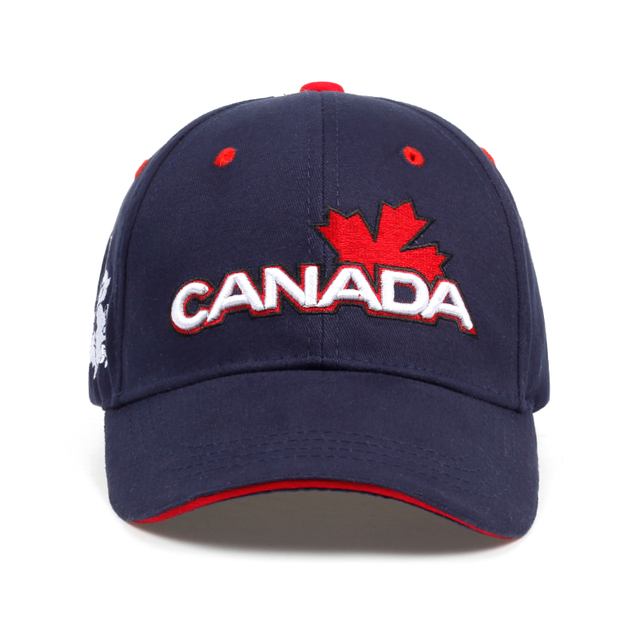679f76439bac5e 2018 New Brand CANADA Letter Cotton Embroidery Baseball Caps Snapback Hat  For Men Women Leisure Hat Cap Wholesale