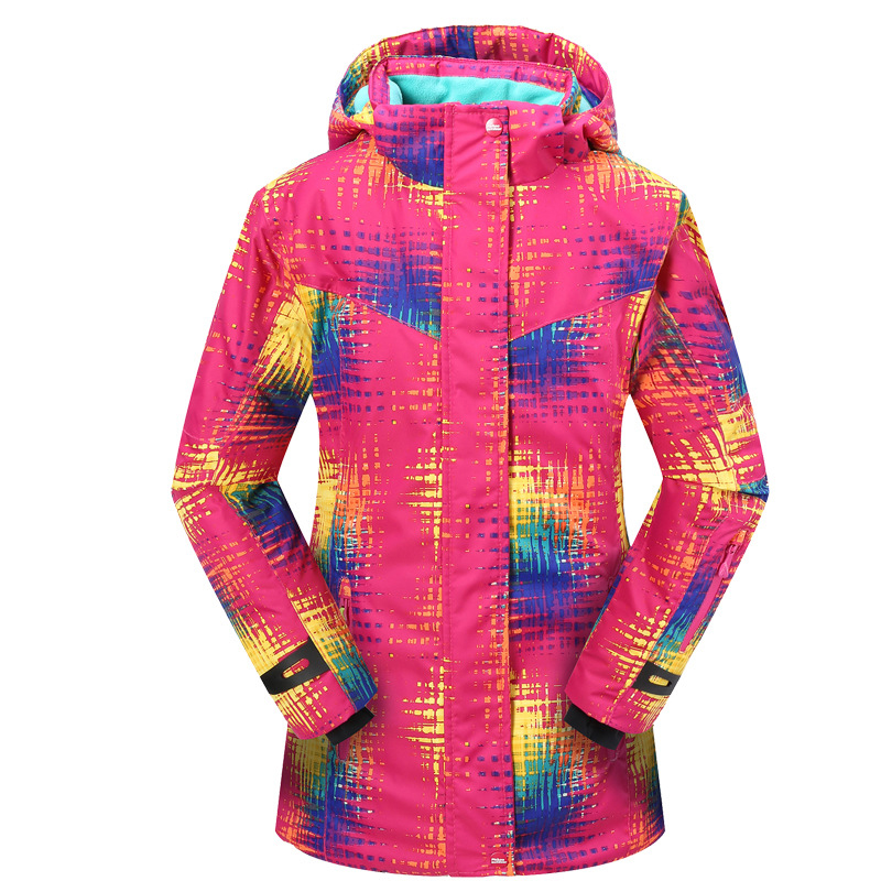 Kids Windstopper Outdoor Sport Snowboarding Skiing Waterproof Ski Jacket Girls Snow Snowboard Winter Jackets Cotton Padded Coat 2017 new fashion boys winter jacket cotton coat children parka detachable faux fur hooded collar long style army green red black