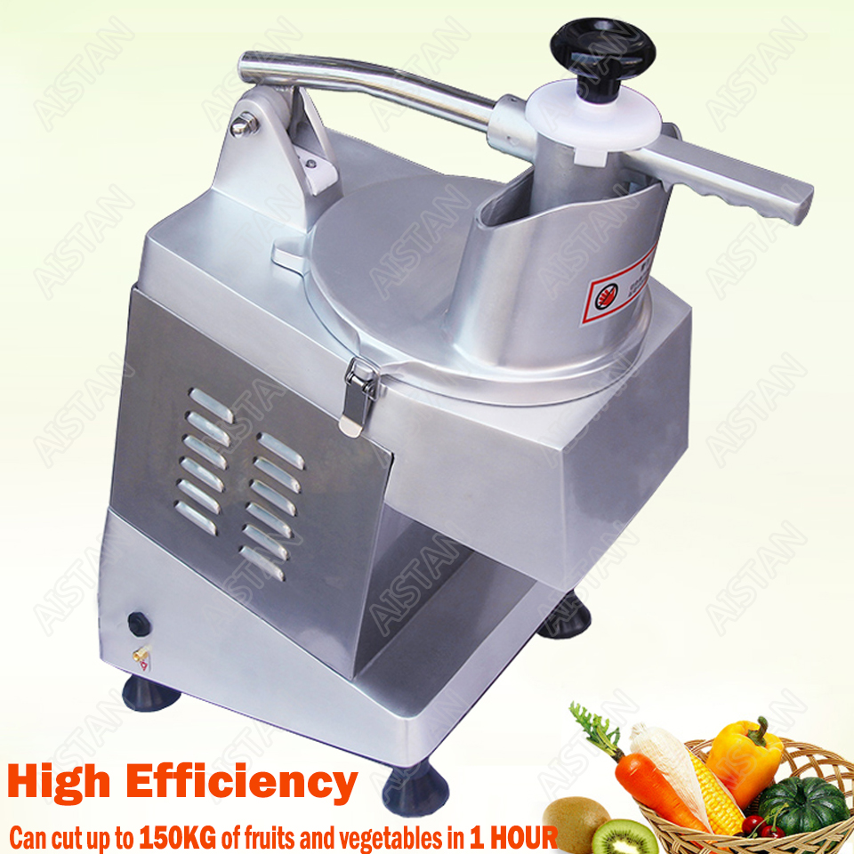 QC205 electric multi-purpose vegetable fruit cheese cutter dicing, cubing, slicing, stripped, grater slicer or shredded machine 2