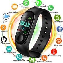 LIGE Smart Sport Bracelet IP67 waterproof Watch Blood Pressure Heart Rate Monitor Pedometer Information Reminder Smart Wrist