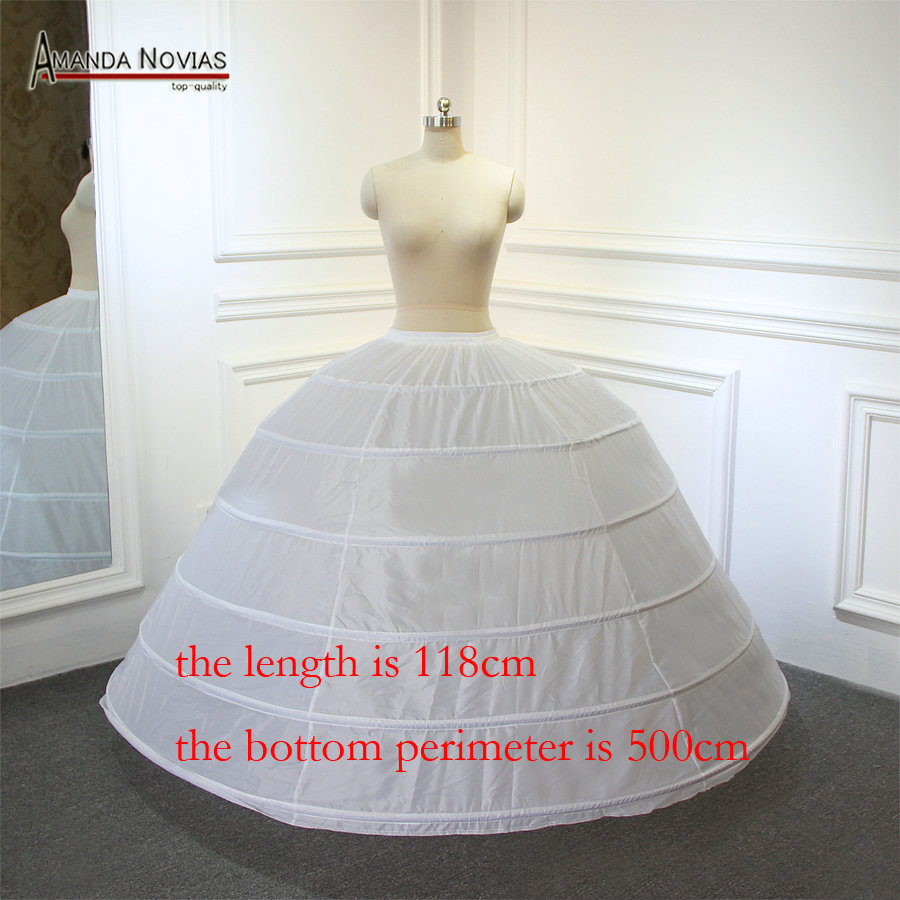 Big Petticoat for ball gown wedding dress the length around 120cm