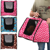Pet Carrier Portable Collapsible Pet Backpack Breathable Dog Cat Traveling Bag Outdoor Hiking Tote Bag Mesh