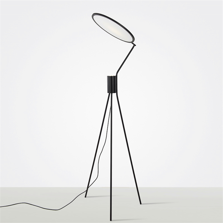 Modern LOFT LED Floor Lamps Nordic Luminaire Lights Living Room Bedroom Bedside Standing Lamp Lighting Fixtures