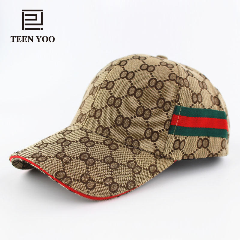 Branded Baseball Caps Fashion Summer Hat For Adult Unisex Cotton Plaid Casual Adjustable Men Snapback Women Cap Sport Teenyoo fashion baseball cap cotton snapback adult hat women casual hats men caps gorras de beisbol 2016 branded 5 panel baseball caps