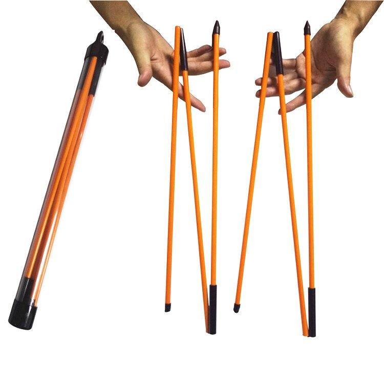 Nouveau Golf Pliable bâtons D'alignement Golf Swing Trainer putt golf directionnel bâtons