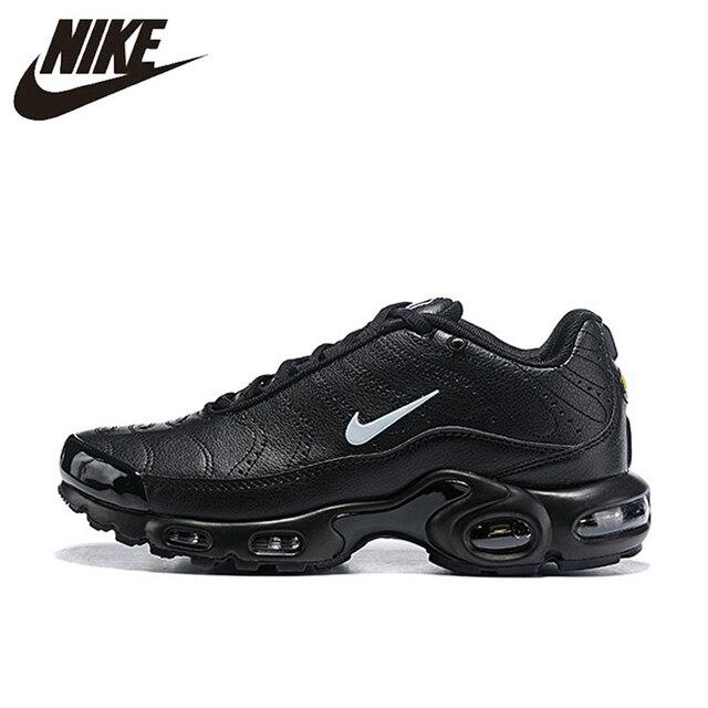 Original Nike Air Max Plus Tn plus Ultra Se transpirables de los hombres corriendo zapatos deportivos Zapatillas Zapatos Zapatillas de deporte al aire libre zapatos 815994 -001