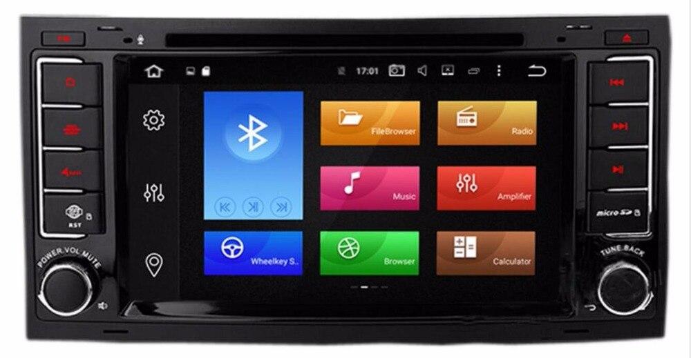 2018 4g LTE 7 Android 8.0 Système Lecteur DVD Stéréo De Voiture Pour VW Touareg 2004 2005 2006 2007 2008-2012 T5 3g WIFI OBD DVR DAB + CARTES