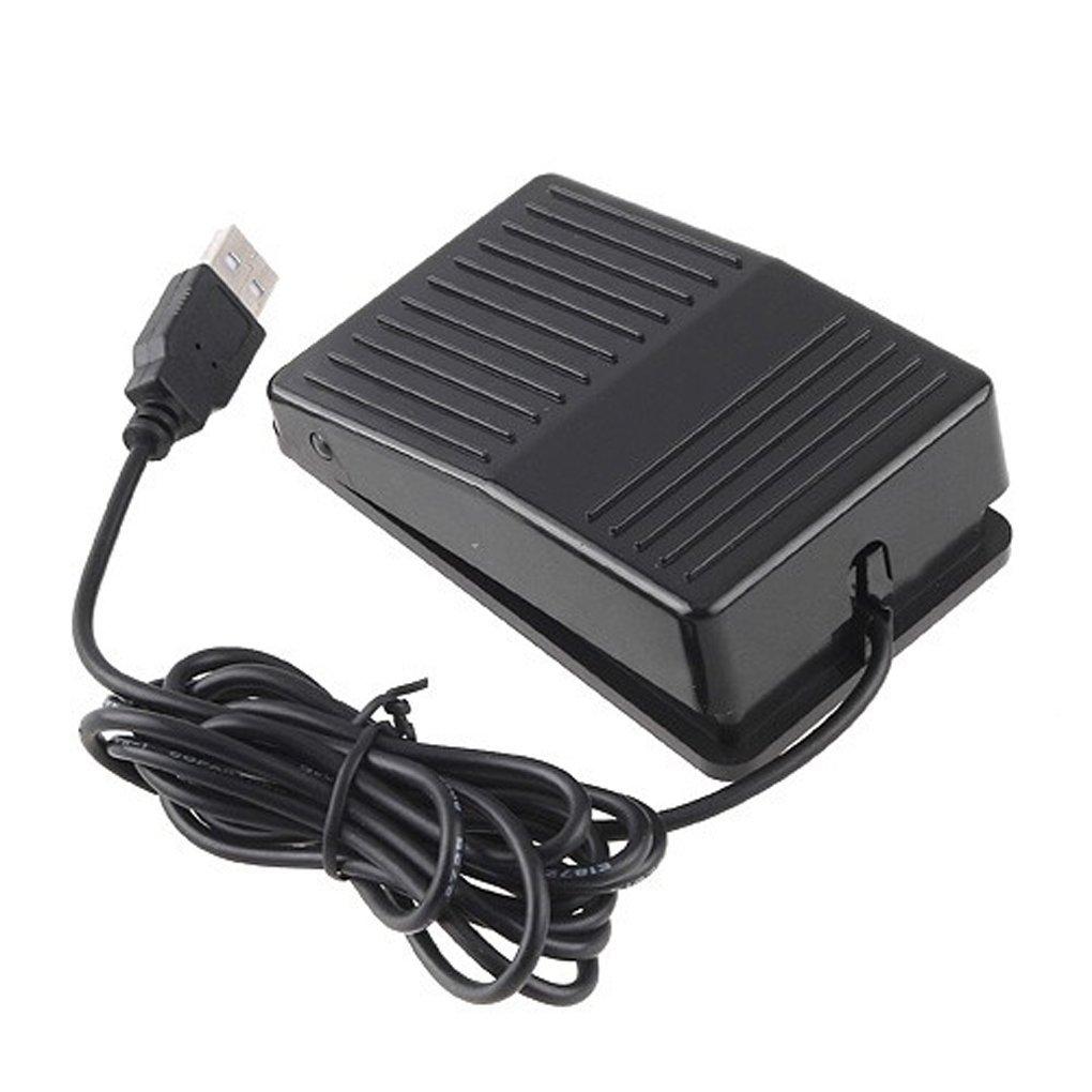 Foot Control Action Switch Pedal Free Driver HID for Keyboard Mouse Game PC Laptop