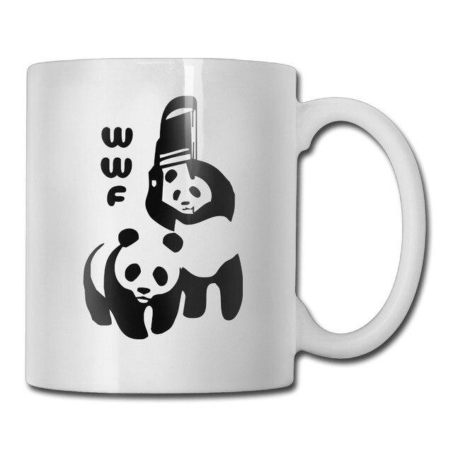 Wwf Panda Coffee Mug Design Your Own Mom Tazas Ceramic Tumbler