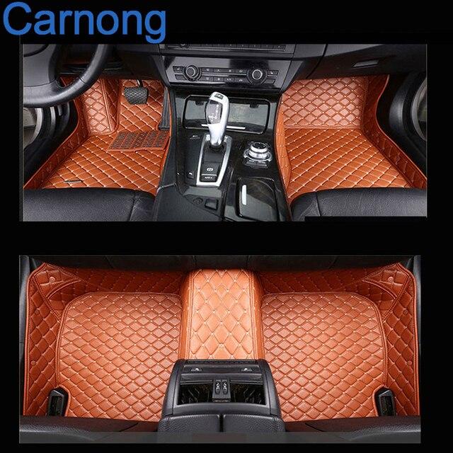 Автомобиль кожаный коврик для hyundai veloster хэтчбек 2006-2016 передние и задние мат левого колеса вождения авто ковры автомобиля мат