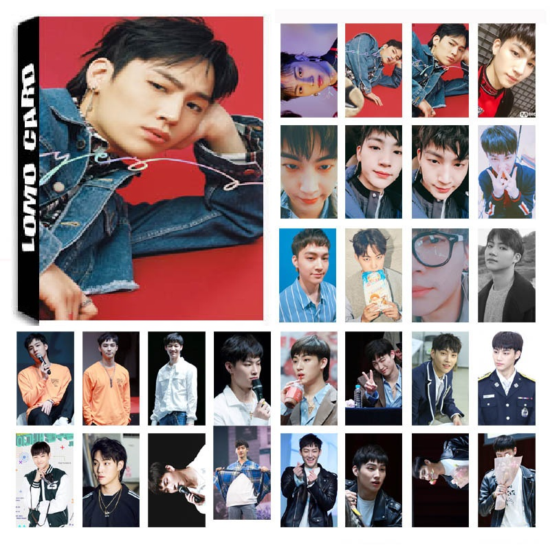 30Pcs/set KPOP GOT7 JB Single 04 EYES ON YOU Album HD Photo Card PVC Self Made LOMO Photocard