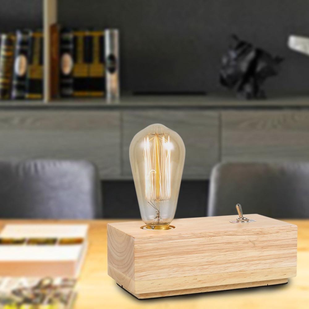Online kopen Wholesale houten bureaulampen uit China houten ...