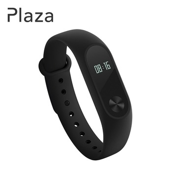 Mi Fitness Tracker, Xiaomi Band 2 Bluetooth 4.0 Smart Heart Rate Monitor IP67 Water-Resistant Wristband Watch With OLED Display Wearable Pedometer Activity Tracker for iPhone, Android phones - Negro