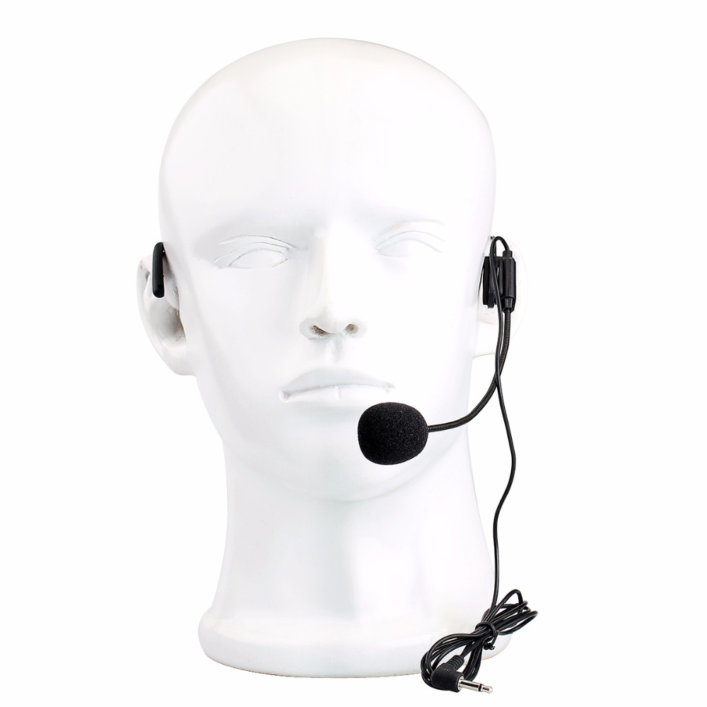 5pcs Mini Headset Microphone Condenser Mic For Voice Amplifier Speaker Professional Tour Guide System Wireless F4512a In Microphones From Consumer