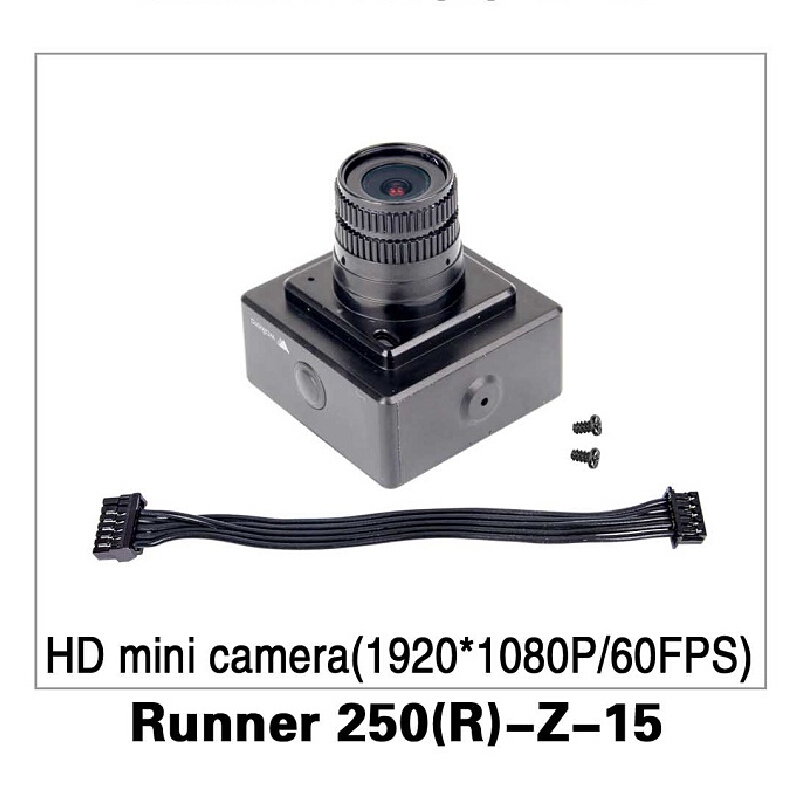 HD Mini Camera (1920*1080P/60FPS) for Walkera Runner 250 Advance GPS RC Drone Quadcopter Original Parts Runner 250(R)-Z-15 walkera runner 250 advance with 1080p camera racer rc drone quadcopter rtf with devo 7 osd camera gps 2 version
