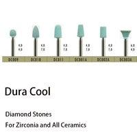 Dental Lab Laboratory Material Diamond Turbo Grinder Full Porcelain Diamond Bur DC009 Polishing Grinder Tools Grinding