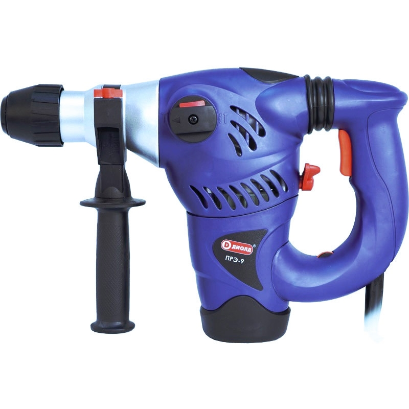 Electric hammer drill Diold ПРЭ-9 (Power 1500 W, speed from 0 to 750 rpm) machine drill sturm bd7045 power 450 w cartridge from 0 to 16mm speed from 280 to 2350 rpm