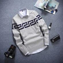 Autumn Winter Knitted Pullover font b Sweater b font font b Men b font Casual font