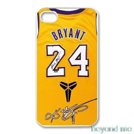 Los Angeles Lakers Kobe Bryant jersey Cover Case for iPhone 4 4s 5 5s 5c 6 Plus Phone Case