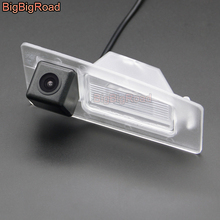 цена на BigBigRoad Car Rear View Parking CCD Camera Night Vision Waterproof For Mazda 3 Mazda3 Axela BM Sedan 2013 2014 2015 2016 2017