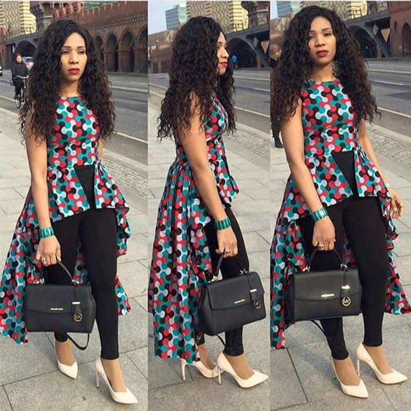 Aliexpress.com : Buy African Bazin Riche Wax Print Dresses for ...