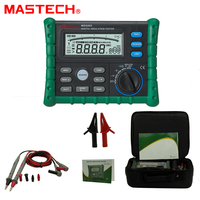 MASTECH MS5203 High Precision Megger Digital Insulation Resistance Meter Tester Multimeter 10G 1000V Medidor De Aterramento