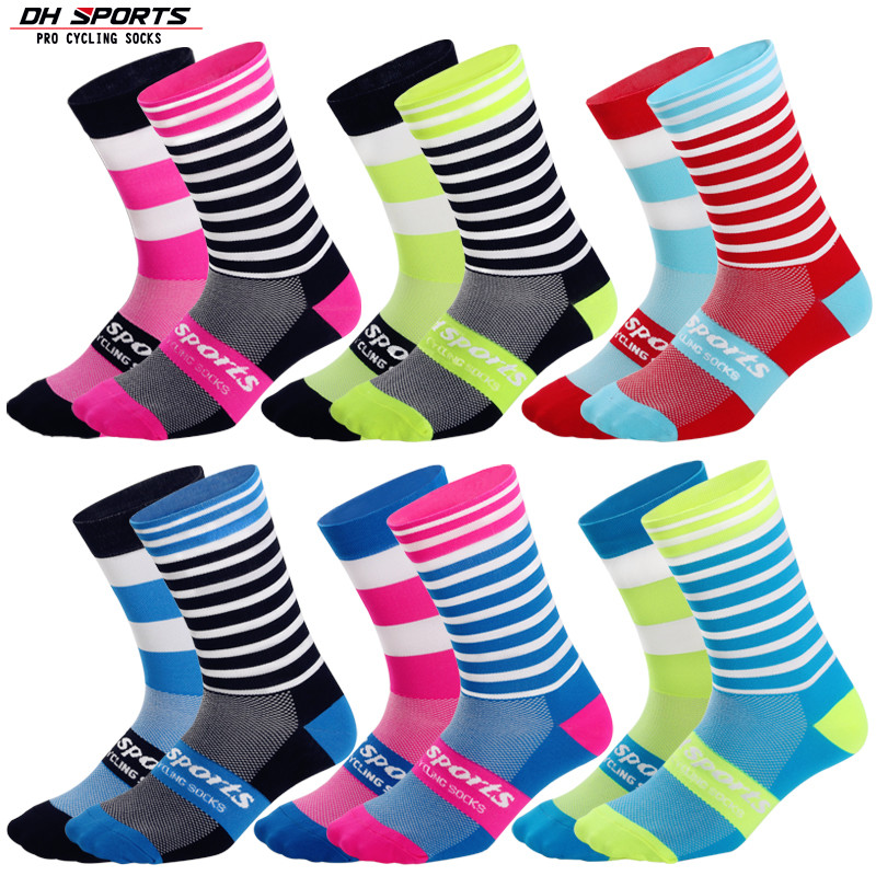 SPORTS Cycling Men Women Spring Winter Socks Fashion High Quality Professional Road Bicycle Brand Bike Compression Crew Socks 12